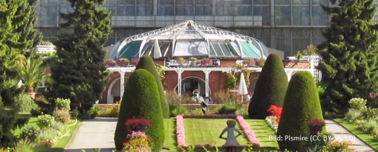 Gewächshaus Botanischer Garten Berlin