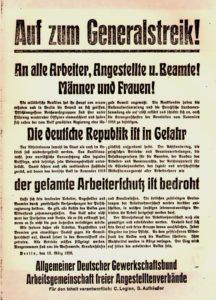 100 Jahre Kapp-Putsch – 100 Jahre Generalstreik! @ ver.di-Bundesverwaltung