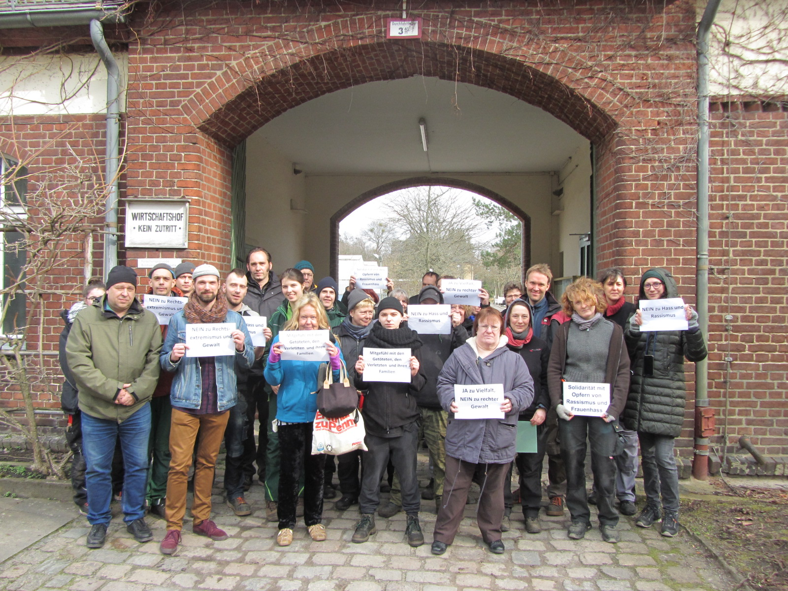 Gedenkminuten für die Ermordeten von Hanau