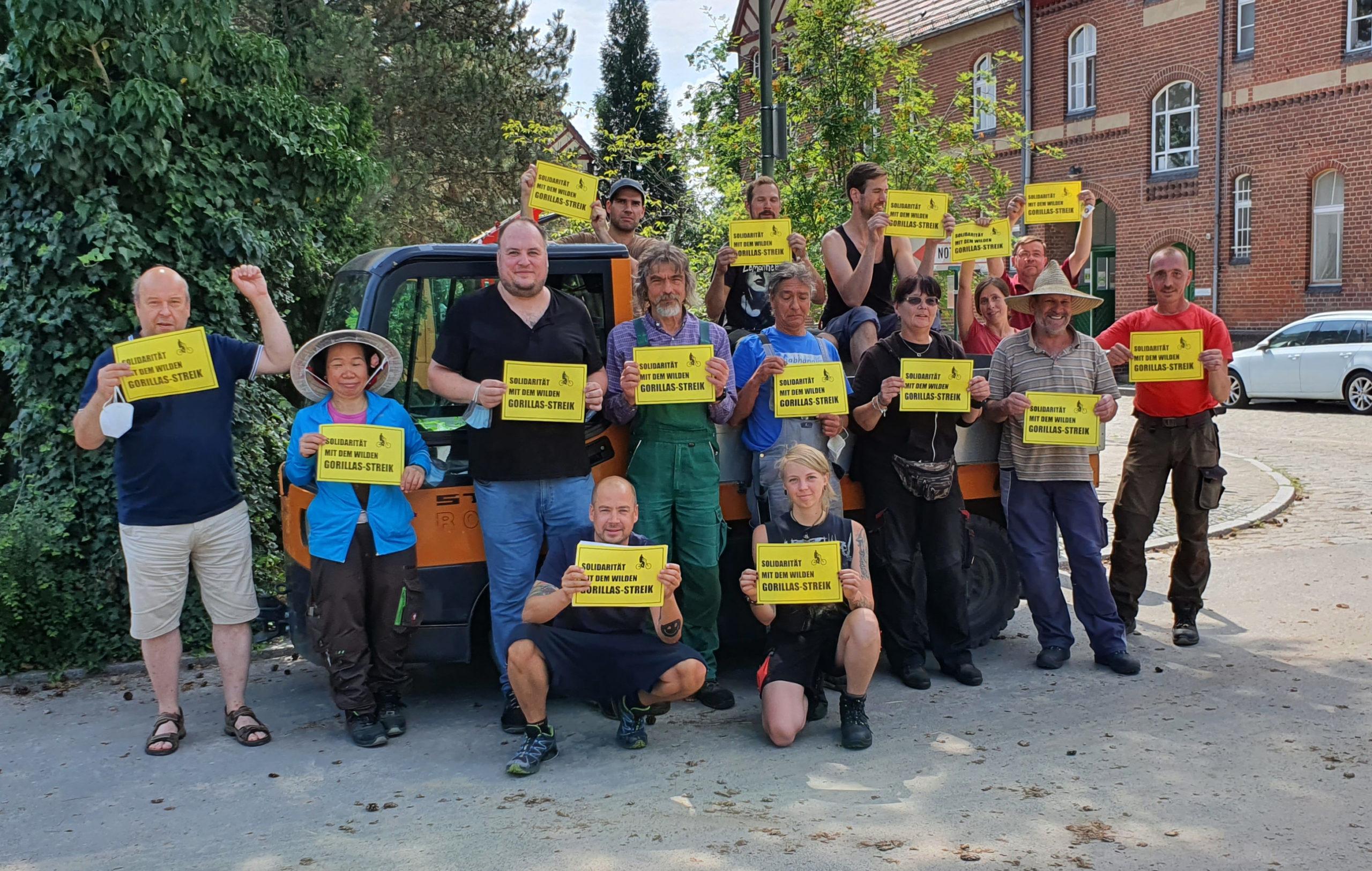 Unterstützt den Streik der Gorillas-Beschäftigten!